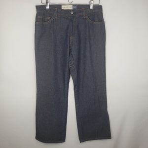 Gap Dark Wash Side Slit Jeans Capris